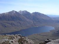 An Teallach across Loch na Sealga