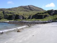 Beach on west coast of Jura - Bagh Uamh nan Giall