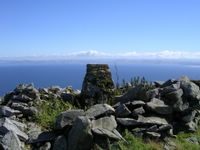 The summit of Ailsa Craig