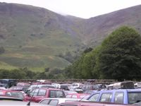 The route viewed from the car park