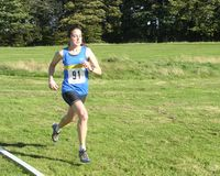 Fastest lady - Michelle Sandison winning Leg 1 in 15:22