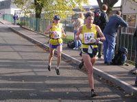 Angela Mudge and Lyn Wilson - fastest ladies on Leg 3