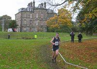 Roderick Fleming approaching the finish