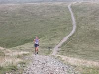 Rob Jebb climbing Winder. Where are the other runners?