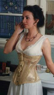 corset, antique corset