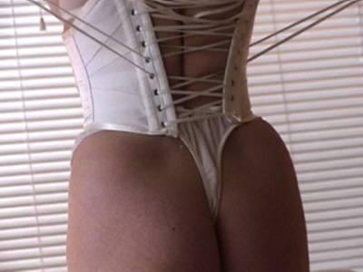 white waist cincher