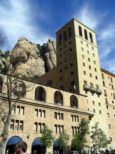 The famous monastery of montserrat - Sitges tourist information office ...