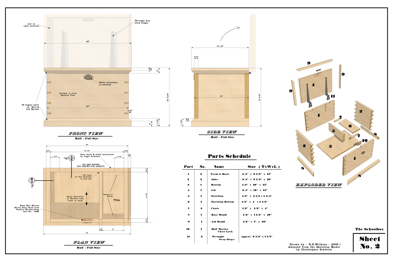 Retired SketchUp Blog: SketchUp Pro Case Study: Randy Wilkins
