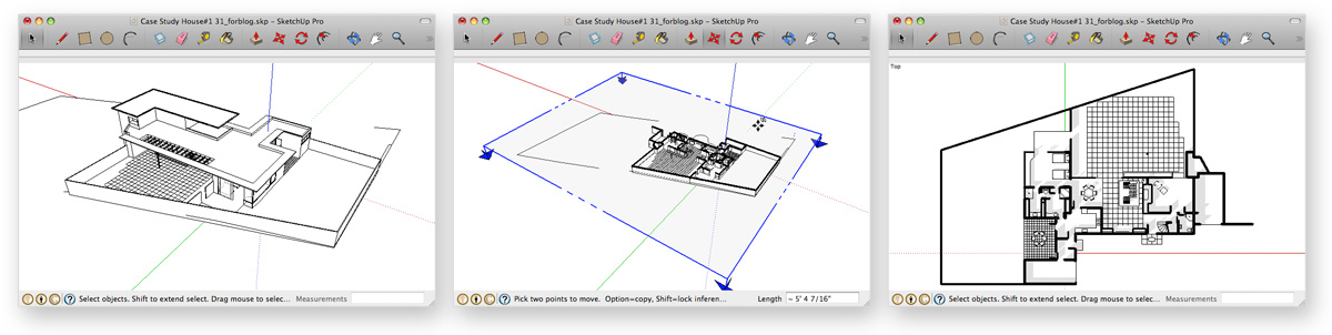 Retired Sketchup Blog Connecting Scenes