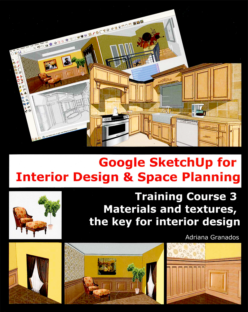 New Sketchup Books For Interior Designers Sketchup Blog