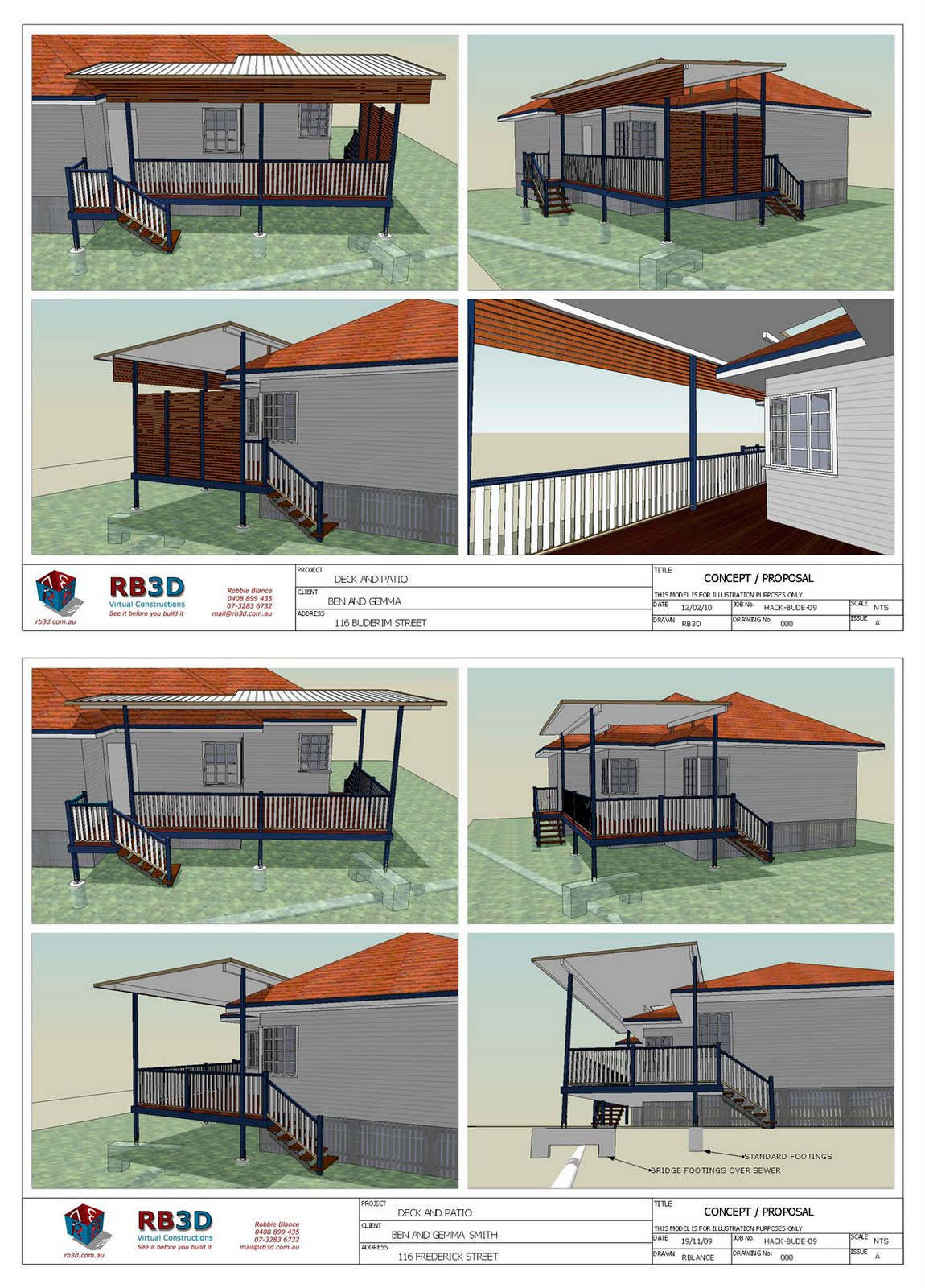 Winning more jobs with layout sketchup blog for Sketchup deck design