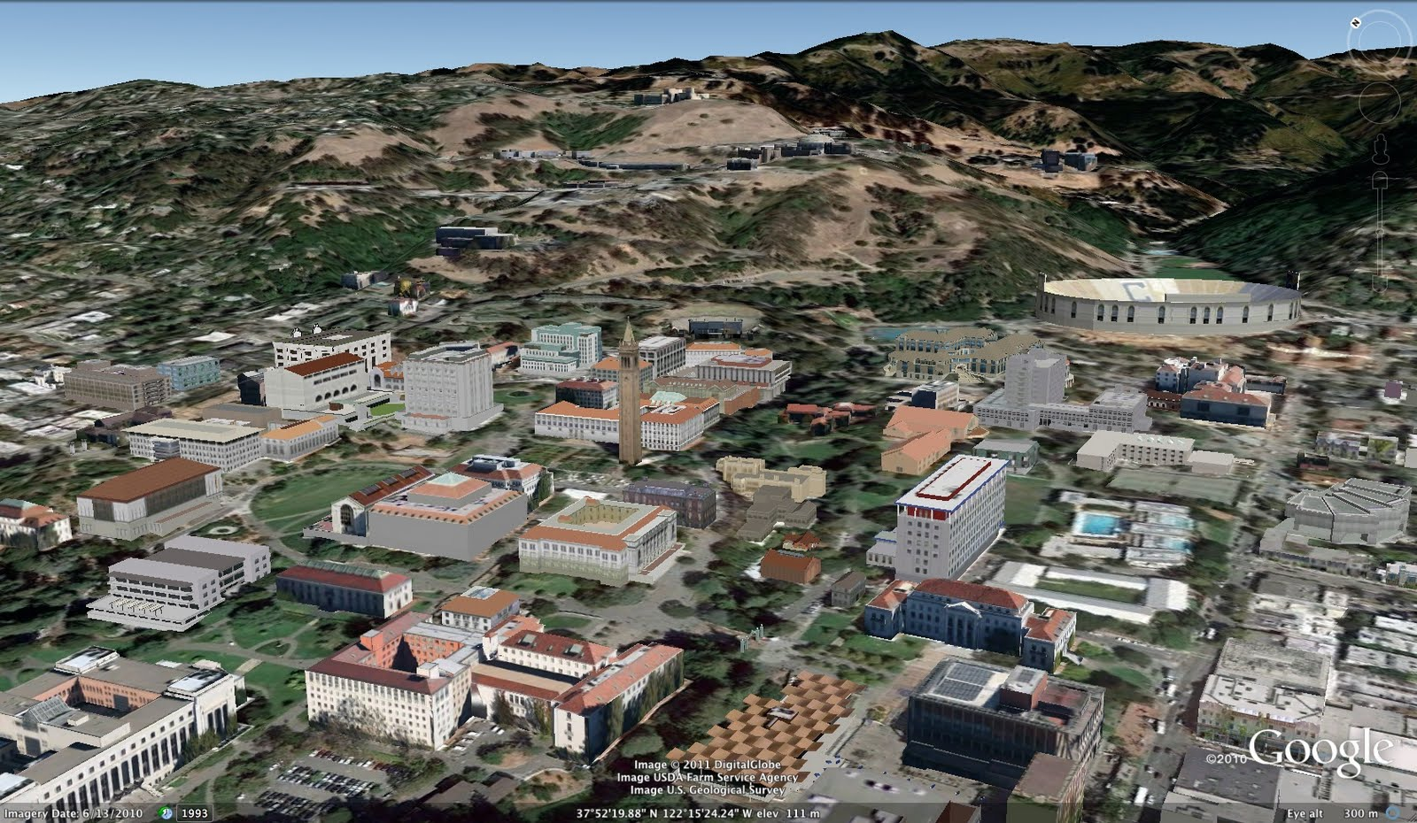 The California Bay Area, now in 3D | SketchUp Blog