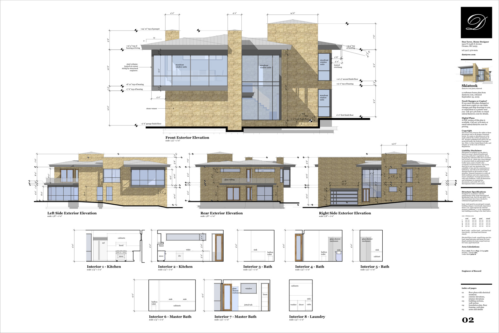 Elevation Plan Sketchup : Retired sketchup pro case study dan tyree