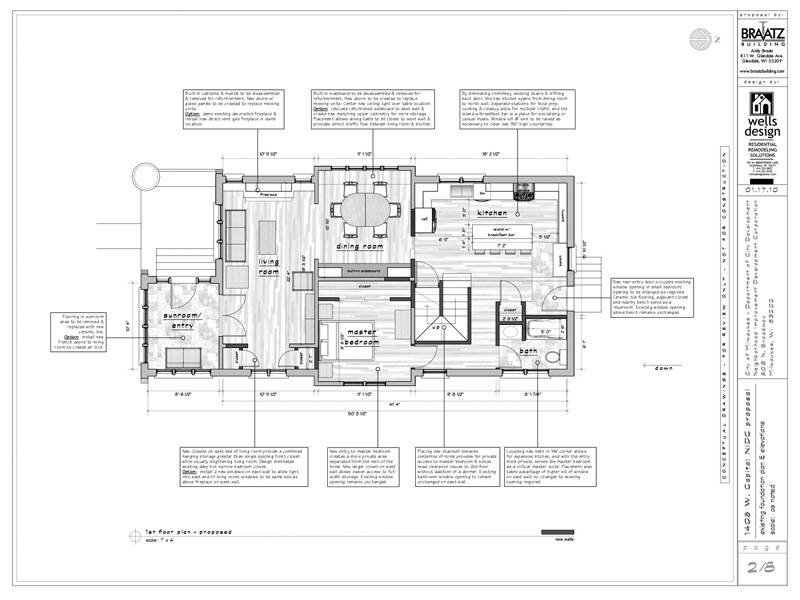 Sketchup pro case study peter wells design sketchup blog for House drawing plan layout