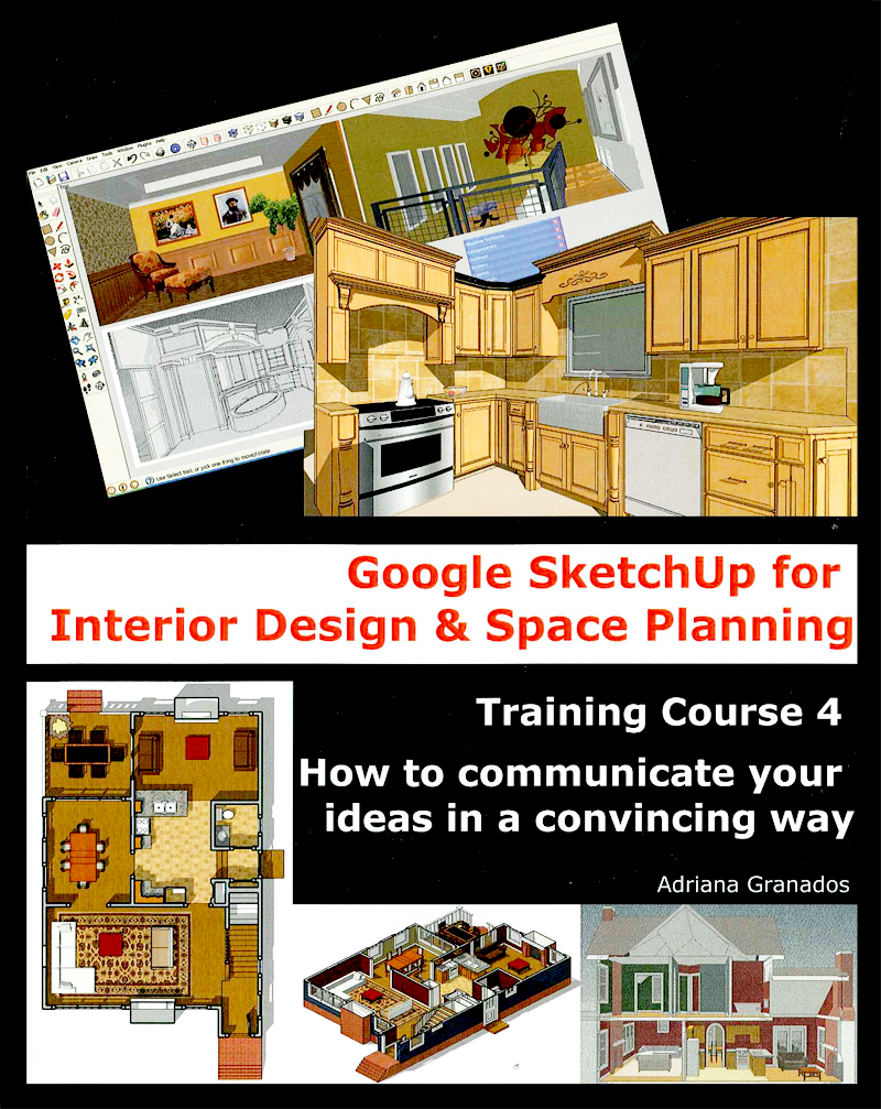 Retired SketchUp Blog New SketchUp Books For Interior