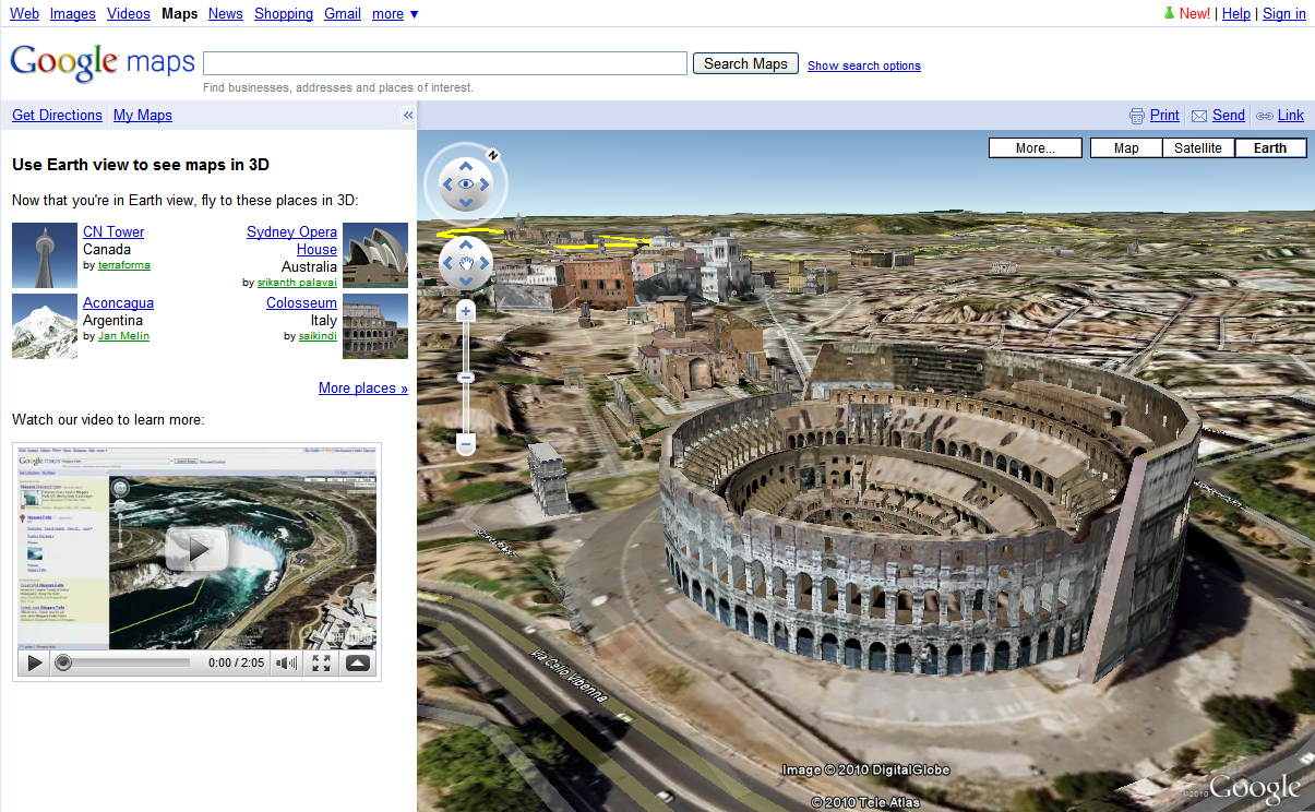 Retired sketchup blog earth view comes to google maps gumiabroncs Choice Image