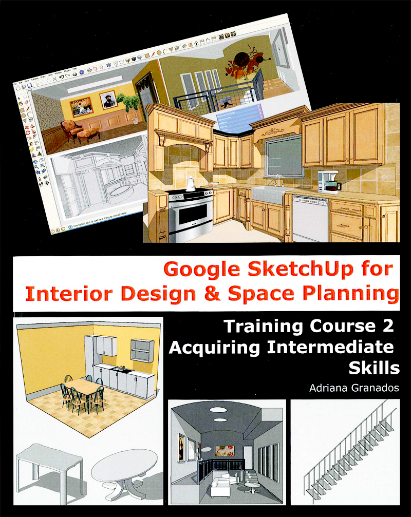 New sketchup books for interior designers sketchup blog - Interior designing course details ...