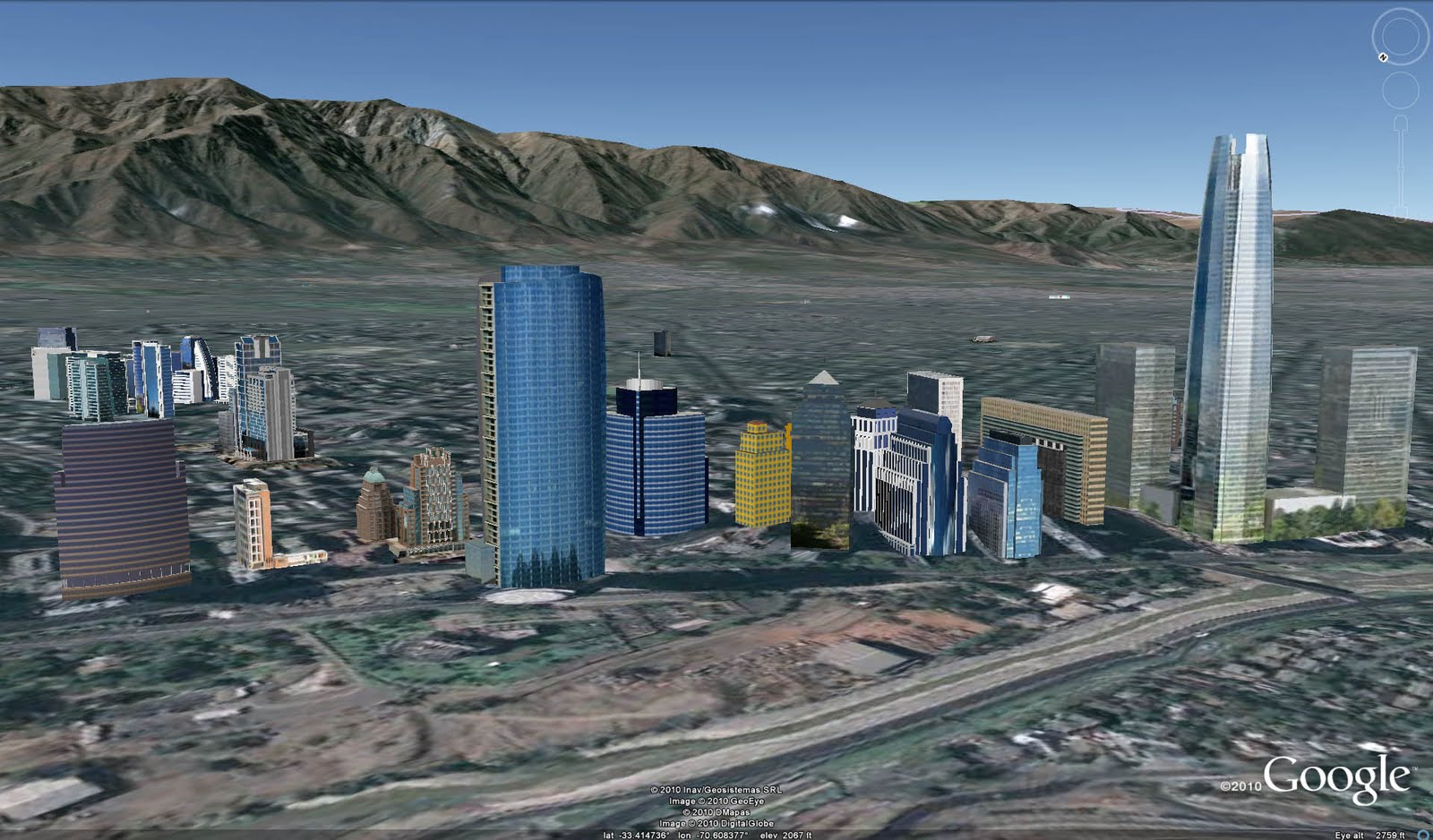 Retired sketchup blog two chilean cities added to google for 3d building creator