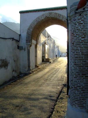 The alley of Sidi Ali azzouz zaghouan tunisie tunisia tunis