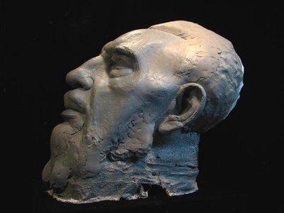 Fidel Castro bust by Daniel Edwards