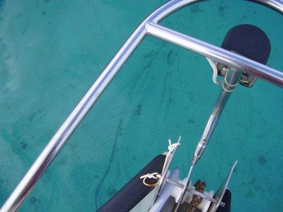 Clear water of Opunohu Bay