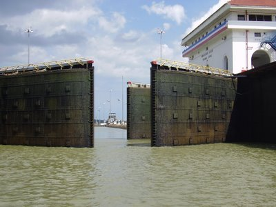 lock gates open