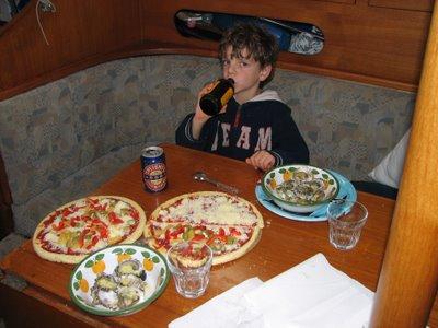 Tom's feast
