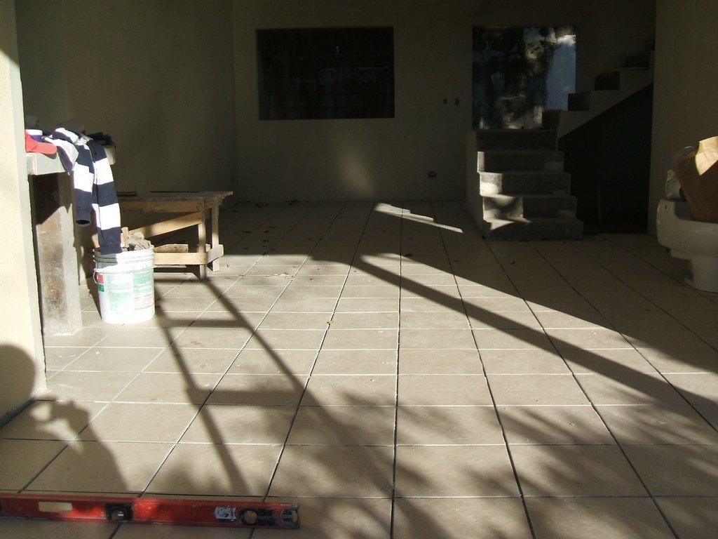 Ricostruzione fotografica dell 39 avanzamento lavori messa - Messa in opera piastrelle ...