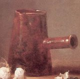 Glass of Water and a Coffee Pot, Chardin 1760