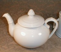 Although this pot is used to make coffee, it looks like an 18thC teapot