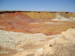 The ochre pits