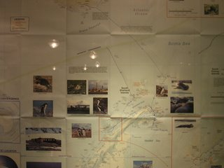 Our route to the Antarctic