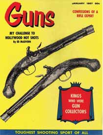GUNS Magazine, January 1957