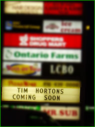Tim Hortons Coming Soon!