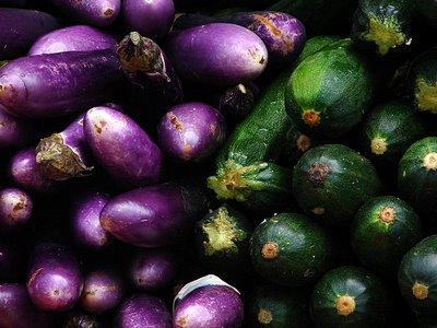 Eggplants & Cukes - Toronto - Kristin Jansen ©2006