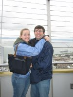 Thomas and Ashley Space Needle