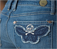 Embroidery In Jeans