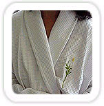 Embroidered Bath Robe