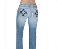 Embroidery In Jeans pant