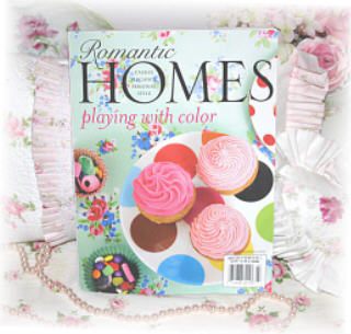 ~Romantic Homes March Issue ~