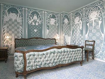 Le tapissier cama capiton e estilo luis xv for Cama luis xv