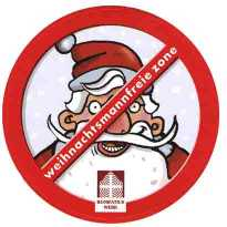 Anti-Santa Sticker (2006)