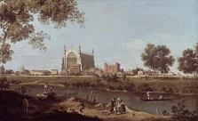 Canaletto - Eton College © National Gallery, London