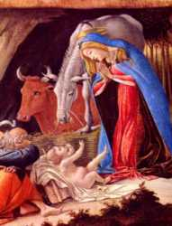 Botticelli - Nativity (detail)
