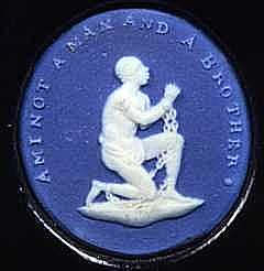 William Hackwood - Am I Not a Man and a Brother? (Wedgwood c.1788)