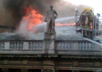 Lena Lachmann-Morck - Fire at the Royal Academy of Arts (2006)