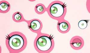 Takashi Murakami - Jellyfish Eyes (2002)