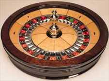 Single Zero Roulette Wheel