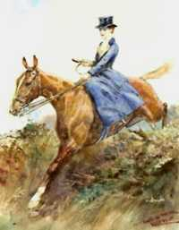 Thomas Ivester-Lloyd (1873-1942) - Hunting Scene