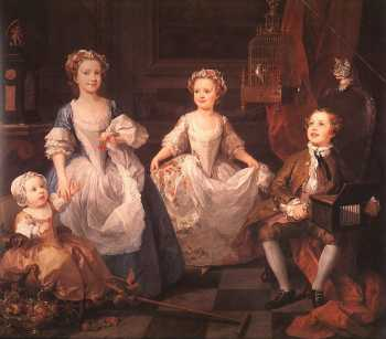 William Hogarth - The Graham Children (1742)